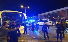 El alcalde de Domingo Pérez, entre los cuatro manifestantes detenidos en Neptuno