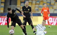 Las mejores imágenes del Dinamo de Kiev-Barcelona