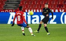 Las mejores imágenes del Granada-FC Barcelona