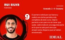 Las puntuaciones del Granada ante el Osasuna