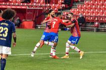Las mejores imágenes de la victoria del Granada ante el Osasuna