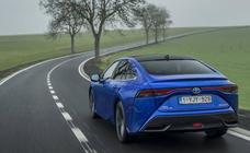 Fotogalería: Toyota Mirai, berlina de lujo, y de hidrógeno