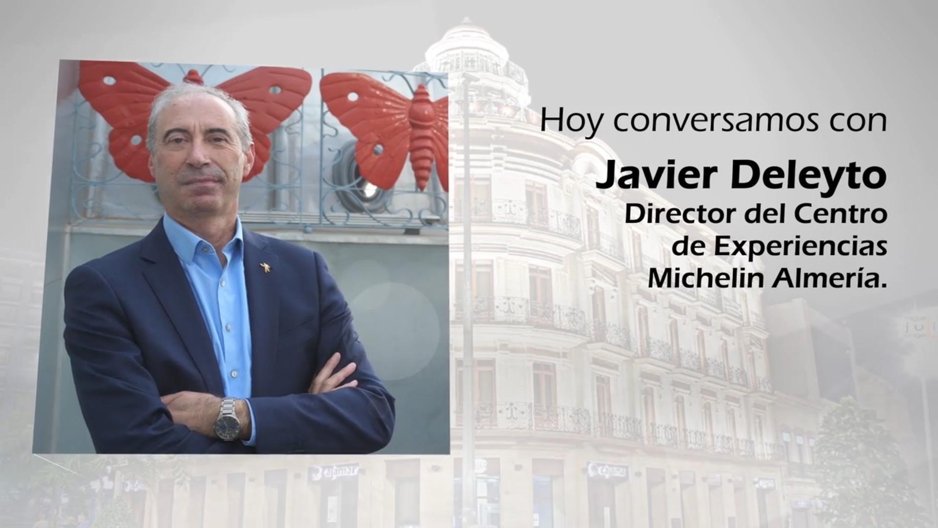 Almería en Futuro con Javier Deleyto (Michelin)