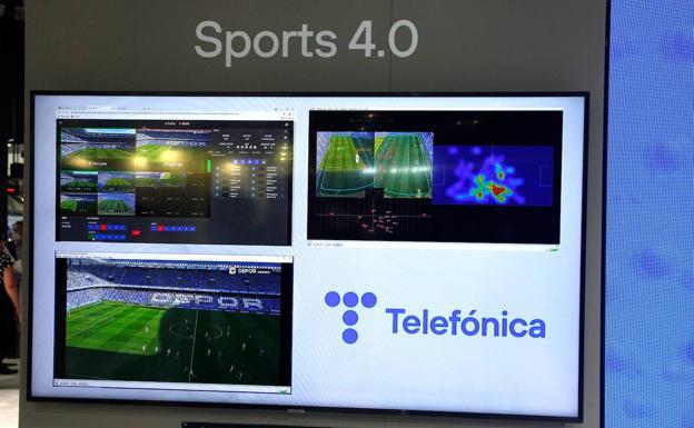 La plataforma proporcionará datos para analizar equipos y jugadores. /TELEFÓNICA