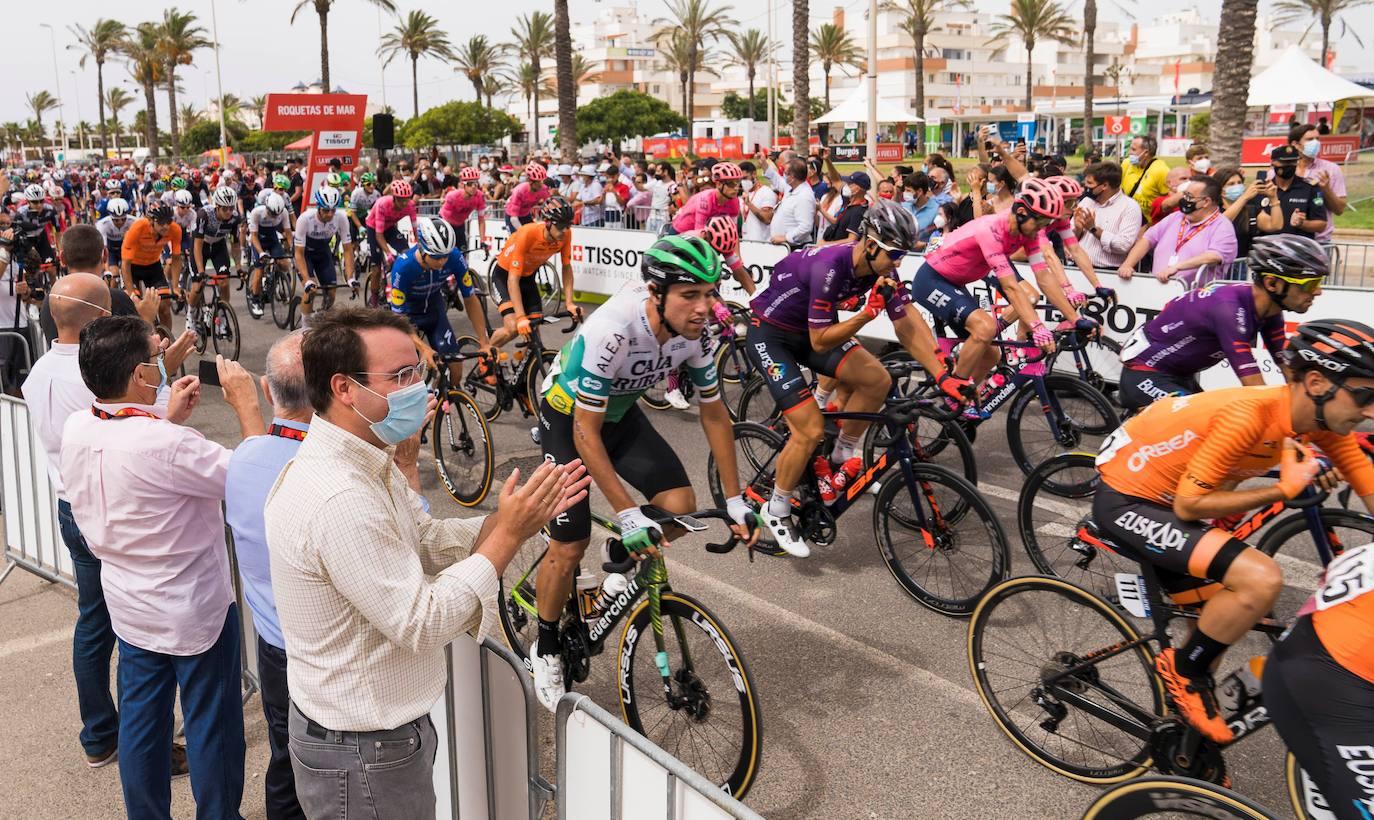 La Vuelta a España se despide de Almería