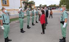 La ministra Robles supervisa la brigada experimental
