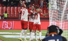 Las mejores imágenes del partido UD Almería-Real Sociedad B