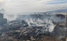 Nuevo incendio en el poblado de chabolas de Atochares, en Níjar