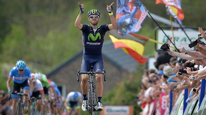 Valverde conquista la Flecha Valona con exhibición en Huy