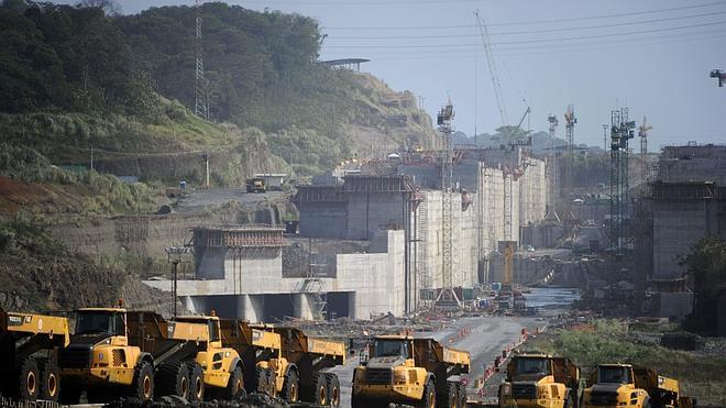 La huelga de construcción paraliza «totalmente» las obras del Canal de Panamá