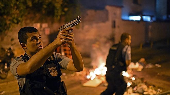 Los disturbios en Río tras la muerte de un joven llegan a Copacabana