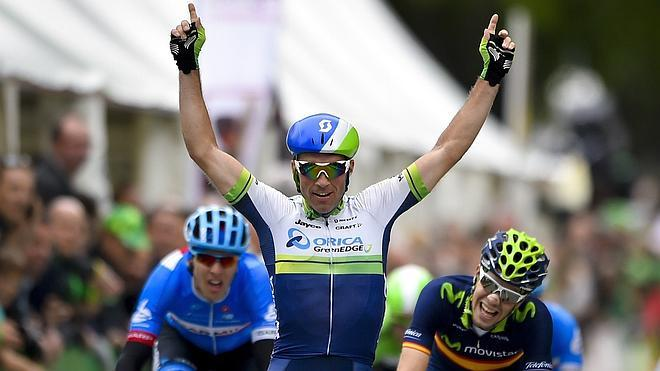 Albasini gana la primera etapa de la Vuelta a Romandía