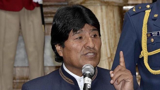 Morales promete un 1 de Mayo sin expropiaciones