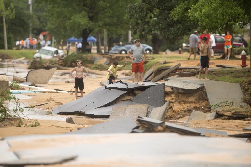 Declarado el Estado de emergencia en Florida tras las fuertes inundaciones