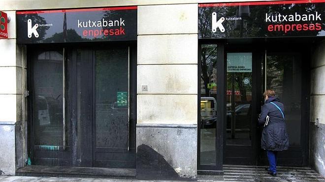 Atacadas catorce sucursales bancarias esta madrugada en Vizcaya