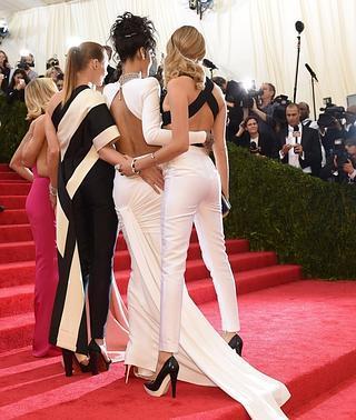 El glamour 'old school' intenta recuperar (a medias) la alfombra roja del Met