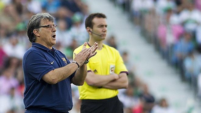 Martino: «Tenemos opciones de ganar la Liga»