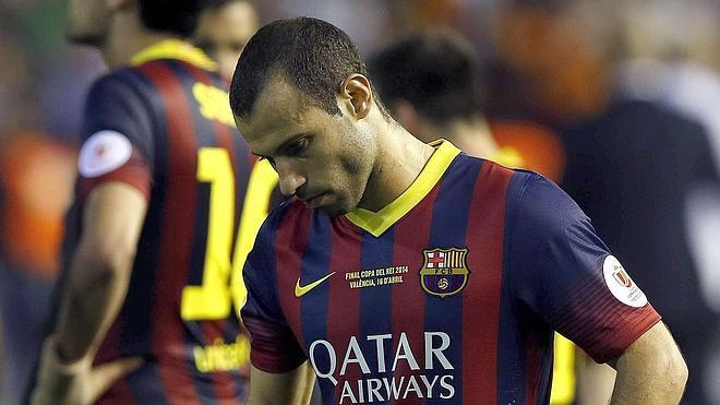 Mascherano abre la puerta a su salida del Barça