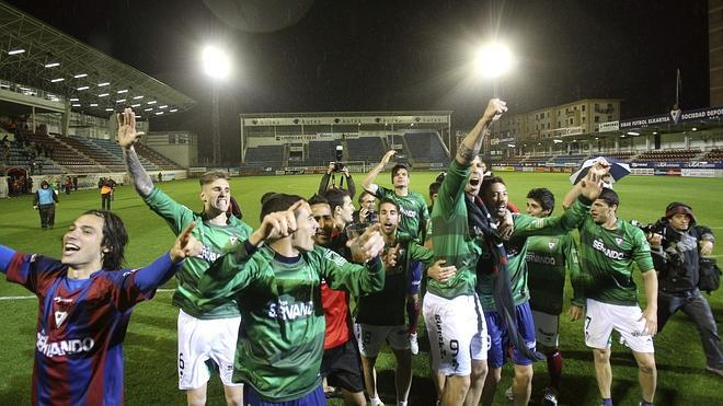 El Eibar asciende a Primera División