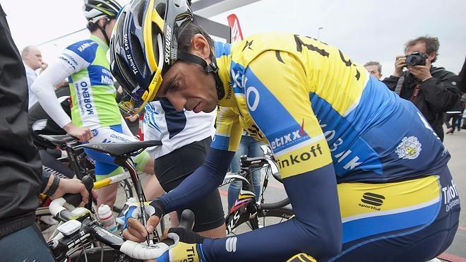 Contador y Froome preparan el Tour en las pendientes alpinas del Dauphiné