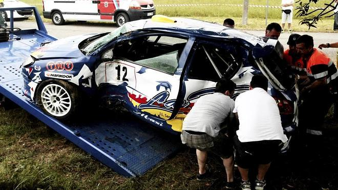 El piloto del accidente en Miengo se siente «desbordado»