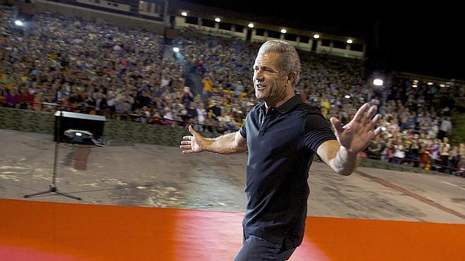 Mel Gibson lleva ocho años perdonando a quienes le critican