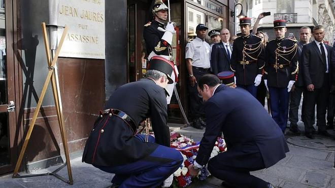 Francia rinde homenaje unánime a Jean Jaurès