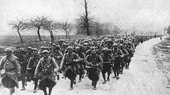 El colosal esfuerzo del Imperio británico en la Primera Guerra Mundial