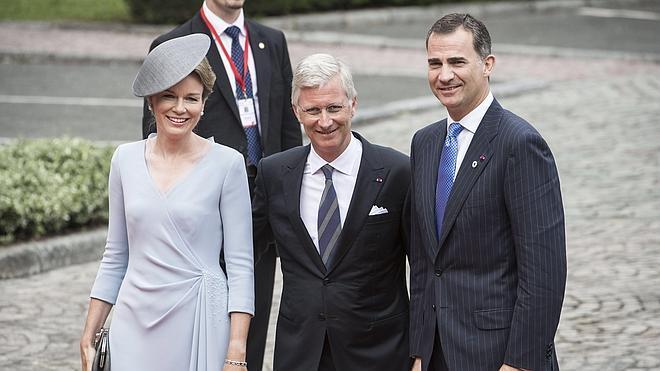 Felipe VI conmemora en Bélgica el centenario de la primera Guerra Mundial