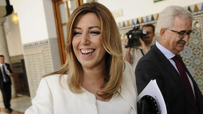 Susana Díaz: «No tengo tiempo de pensar en elecciones»