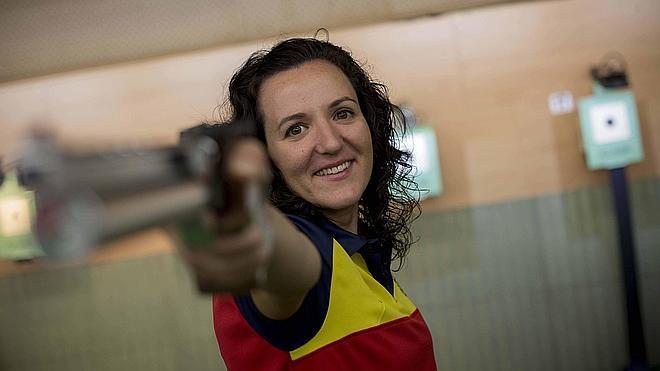 «Las armas son un poco tabú y que sean olímpicas parece raro»