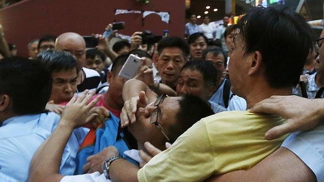 Los manifestantes suspenden el diálogo con el Gobierno de Hong Kong