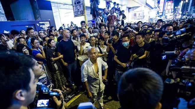 Democracia real en Hong Kong