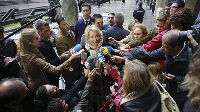 """Aguirre advierte de que Podemos es """"muchísimo peor que lo que tenemos ahora"""""""