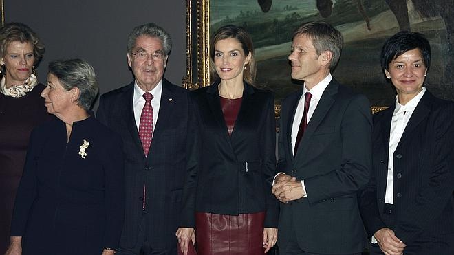 Doña Letizia inaugura en Viena la mayor muestra sobre Velázquez en Europa Central