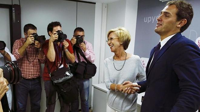 Albert Rivera y Rosa Díez se contradicen sobre un pacto entre UPyD y Ciudadanos