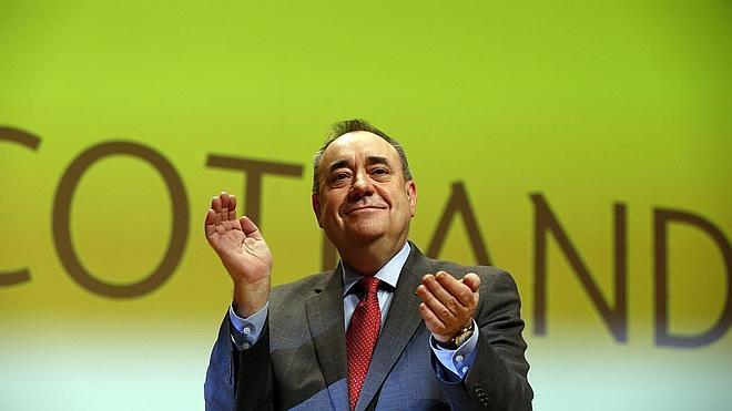 Salmond defiende en su despedida una futura Escocia independiente