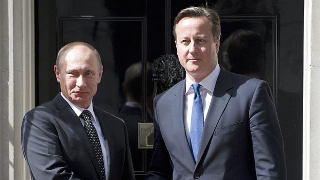 Cameron compara a Rusia con la Alemania nazi
