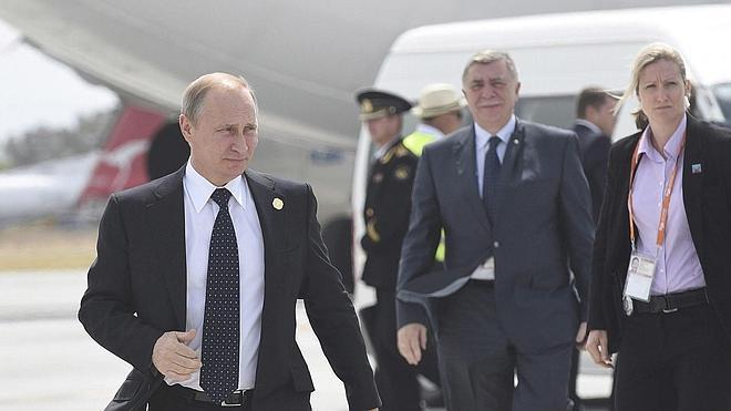Putin se marcha antes del cierre de la cumbre del G-20