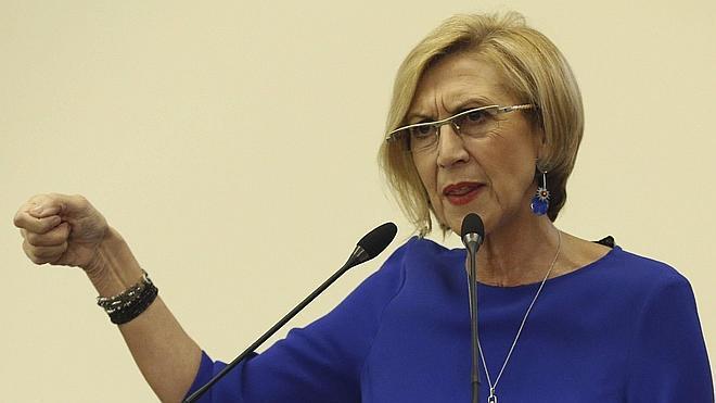 Rosa Díez aún no ha decidido si se presentará a las generales