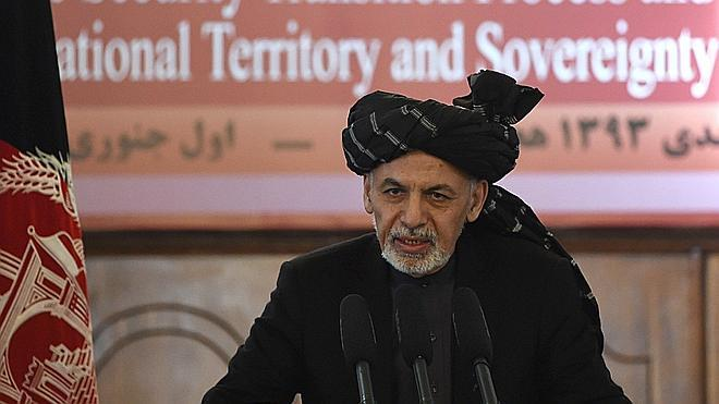 El presidente de Afganistán cree que los ataques talibanes podrían retrasar la retirada de EE UU