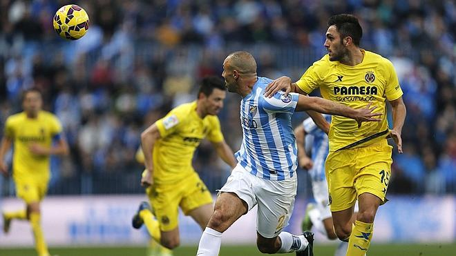 Málaga y Villarreal firman tablas justas en un gran encuentro