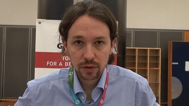 Pablo Iglesias pide el voto para Syriza
