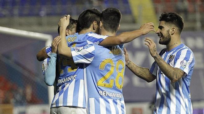El Levante remonta ante el Málaga el partido pero no la eliminatoria
