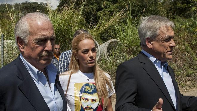 Impiden a Piñera y Pastrana visitar al opositor venezolano Leopoldo López