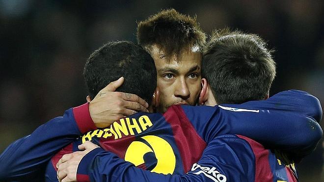 El Barça se impone en la montaña rusa
