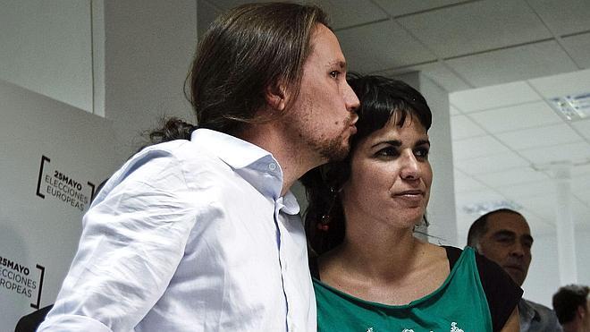 Teresa Rodríguez gana con más del 80% en las primarias de Podemos en Andalucía