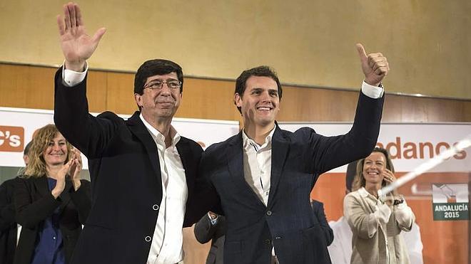 Albert Rivera: «Vamos a enseñar a pescar en Andalucía, no a repartir pescado»