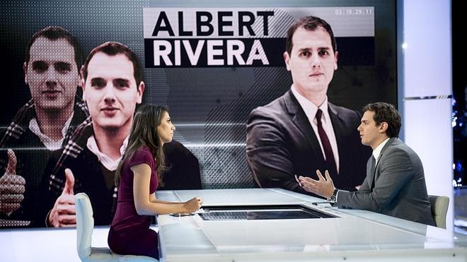 Albert Rivera, sobre Podemos: «Con ese programa, volveríamos a la peseta»