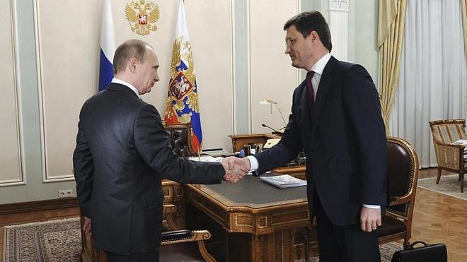 Rusia y Ucrania acuerdan la entrega de gas hasta finales de marzo